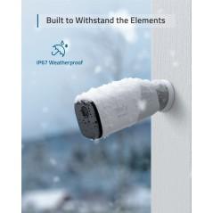 Vezetéknélküli biztonsági kamera rendszer EUFYCAM 2 (2+1)