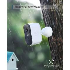 Vezetéknélküli biztonsági kamera rendszer EUFYCAM 2C (2+1)