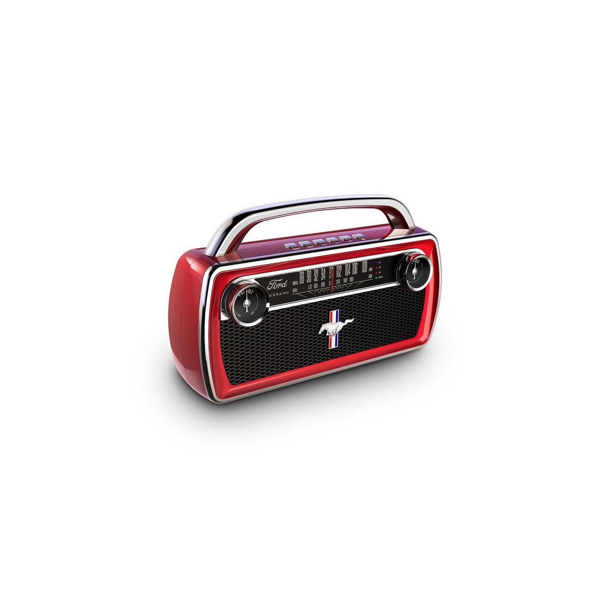 Hordozható bluetooth hangszóró MUSTANG STEREO