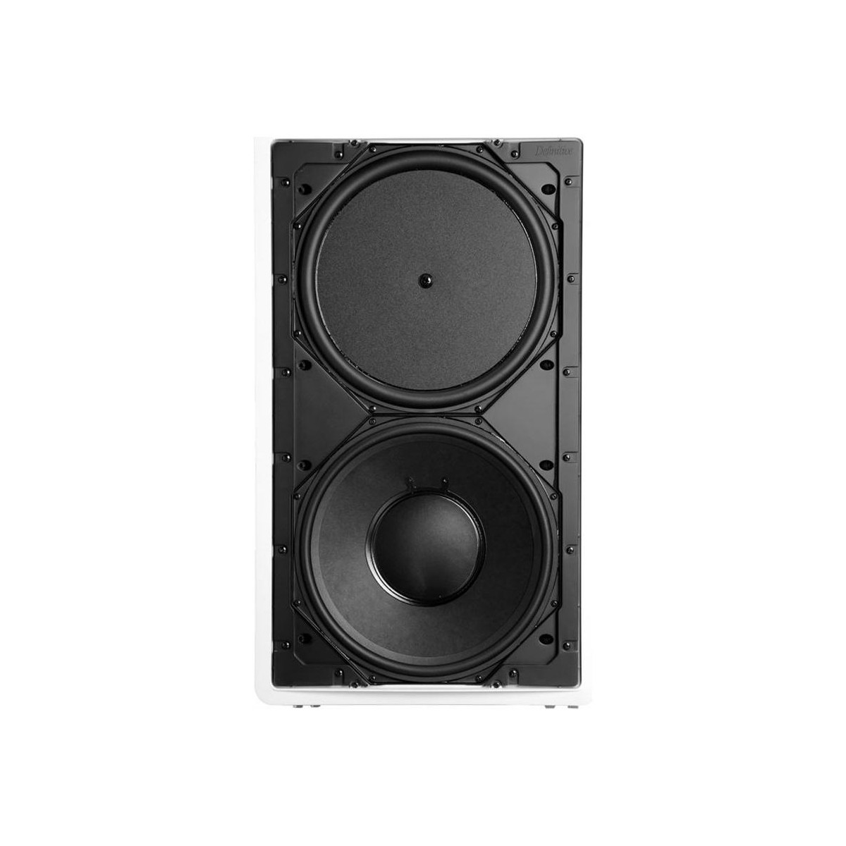 """13"""" In-Wall Subwoofer with Integral Sealed Enclosure UIW SUB REF"""