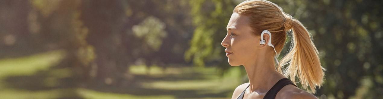 Sport fej- és fülhallgatók